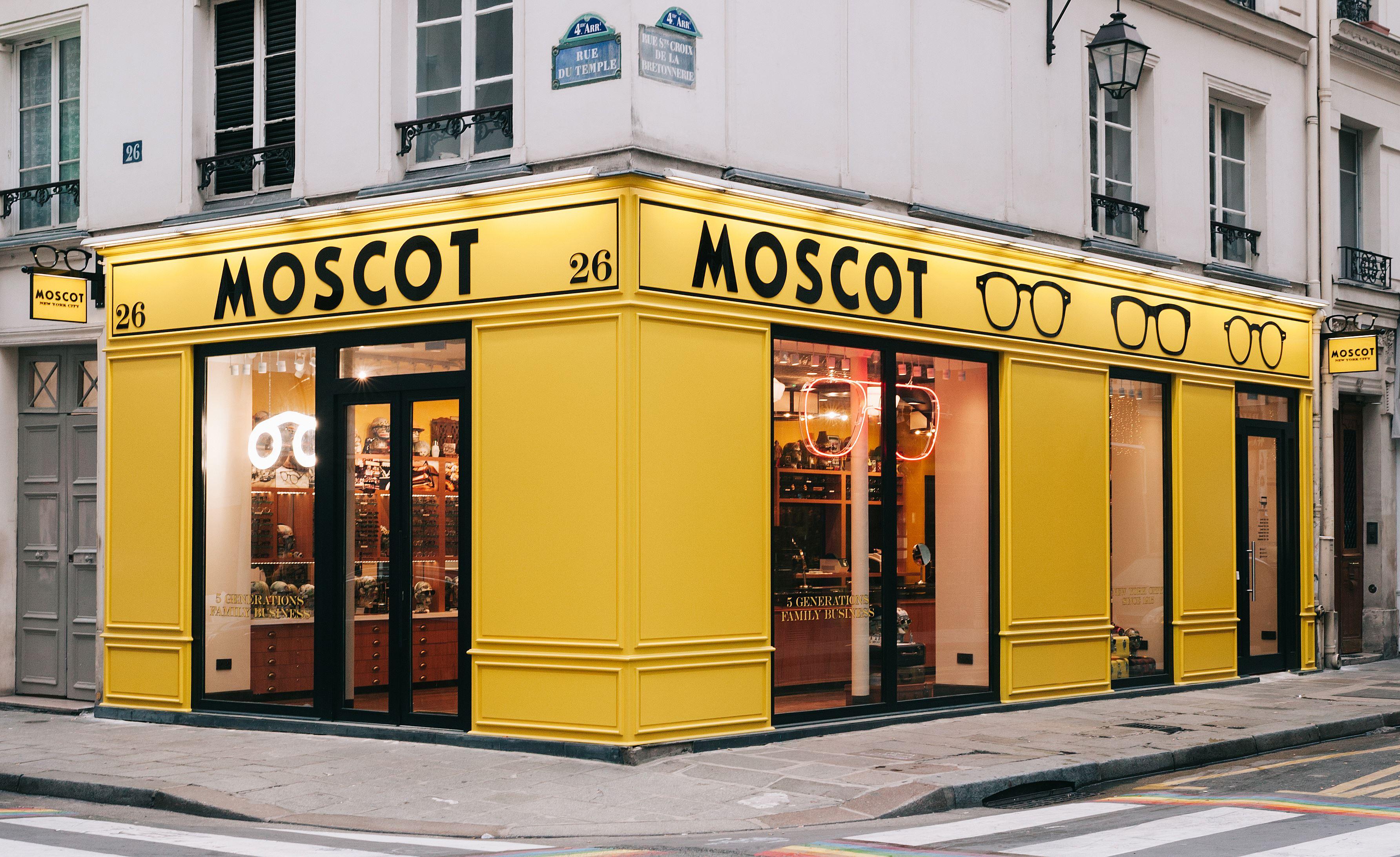 MOSCOT, l'iconico brand newyorkese di eyewear apre il suo primo flagship store a Parigi